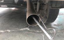 segini jarak alat uji emisi dari ujung knalpot, pengaruh hasil lho!