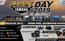 maxi yamaha day 2019 lanjut ke banjarmasin besok, siapkan buat turing dan camping bro