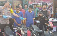 dua pemuda ini sukses bawa kabur satria f150 dari masjid, hanya bermodal gunting