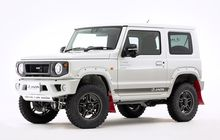 Suzuki Jimny Garang, Dimodifikasi Bergaya Rally, Cocok Gak Nih?