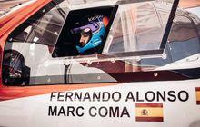 fernando alonso sudah pilih navigator buat debut reli dakar, bukan kaleng-kaleng