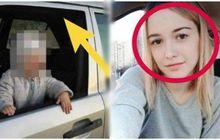 nahas! mama muda meninggal dunia terjepit jendela mobil yang ditutup anaknya di hari ultahnya