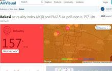 pemkot bekasi pusing, mau tekan polusi udara atau pajak kendaraan bermotor?