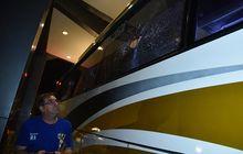 usai lawan persikabo, bus yang ditunggangi pemain persib jadi korban 'klitih'