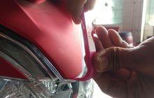 awas rawan patah, bongkar cover body honda pcx perlu tools khusus!