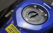 motor sport bisa pasang tutup tangki ini, anti ribet di pom bensin