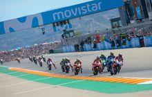 jadwal lengkap motogp aragon akhir pekan ini, berubah gara-gara f1 singapura