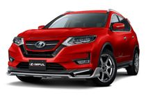 modifikasi nissan x-trail garapan impul, agresif pakai body kit custom