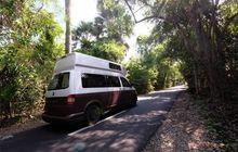 ubah vw t5 jadi campervan, donny kris pakai mobilnya buat keliling indonesia