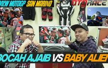 video review motogp san marino 2019: bocah ajaib vs baby alien
