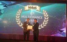 terus jaga komitmen, cnaf raih infobank multifinance award 2019