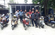 Curhat Horor Rombongan Vespa Melintas di Alas Roban dari Bekasi ke Yogyakarta, Disapa Miss Kunti