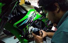 Kiraiin Mahal, Ternyata Bikin Kinclong Motor di Workshop Detailing Cuma Butuh Biaya Segini