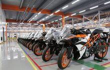KTM Tutup Sementara Pabriknya, Komponen Dari Italia 'Macet', Imbas Virus Corona