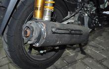 Knalpot Motor yang Bocor Bisa Kemasukan Air Saat Hujan, Ini Tandanya