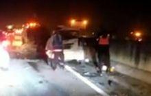 Kijang Innova, Toyota Avanza, dan Mitsubishi L300 Bertumbukan di Tol Saat Libur Natal, 2 Orang Tewas