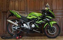 Motor Bekas Kawasaki Ninja 150 RR Tahun 2014 dan 2015 Bisa Dikredit, Segini DP dan Angsurannya