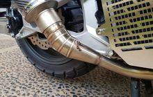 Apa Bedanya Leher Knalpot Motor Model Bending dan Las Cacing?