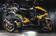 Yamaha Aerox Serasa Bumblebee di Transformer, Main Warna Agresif dan Full Aksesoris