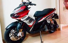 Bukan Mocin, Ini Yamaha Nouvo Pasang Wajah Ducati Panigale, Buntutnya Seksi