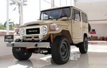 Kabar Gembira! Toyota Produksi Lagi Suku Cadang Land Cruiser Hardtop