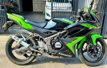Kawasaki Ninja 150 RR Harganya Ada yang Gelap, Mulai dari Segini
