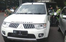 Geger Pajero Sport Pelat Hitam RI 1 Mau Terobos Mabes Polri, Katanya Hendak Protes Jokowi