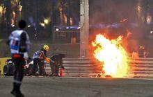 Pembalap F1 Selamat dari Kebakaran Hebat, Ini Rahasia Baju Balap Mereka