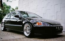 Nih Biaya Bikin Plat Nomor Viral B 63 MPI di Honda Civic Estilo Milik Gading Marten, Mau?