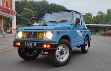 Aksesori Suzuki Jimny SJ410, Ragam Gril JDM dan USDM Mulai Rp 500 Ribuan