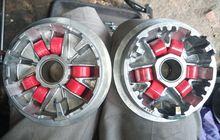 Meski Tidak Semuanya Peyang, Ganti Roller Motor Matic Tetap Harus Satu Set