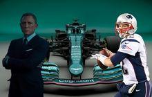 Pemeran James Bond, Daniel Craig Beri Dukungan Atas Kembalinya Tim Aston Martin ke F1