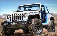 Jeep Magneto, Wrangler Keren yang Jadi Mobil Listrik