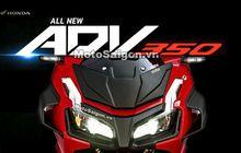 Honda Siapkan Skutik Adventure Baru, Mesin Forza 350 Cc, Desain Mirip ADV 150