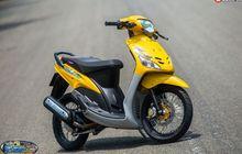 Yamaha Mio Lawas Menolak Tua, Tampil Kece dengan Part 'Hedon'