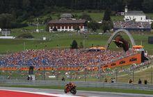 Larangan Sudah Dicabut, 2 Seri MotoGP Red Bull Ring Austria Bakal Terdengar Sorak Sorai Penonton Lagi