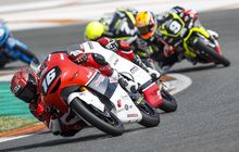 HasilBalap Race 1 CEV Moto3Barcelona2021 : Hampir Juara, Mario AjiTerbuang di Lap Terakhir, Ulah David Munoz