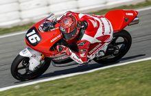 Jadi Sirkuit Favorit, Mario Aji Siap Taklukan CEV Moto3 Aragon 2021