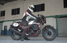 Test Ride Moto Guzzi V7 III Racer 10th Anniversary, Moge yang Irit?
