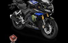 Tampilan Sporty Habis, Harga Lima Motor Yamaha Edisi Monster Energy MotoGP