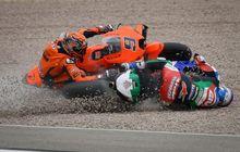 Crash Disambar Alex Marquez di MotoGP Jerman 2021, Danilo Petrucci Malah Ngamuk ke Iker Lecuona