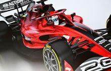 Foto Pertama Replika Mobil Baru F1 2022 Bocor ke Publik, Bakal Dipamerkan Saat Gelaran F1 Inggris 2021?