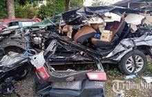 Segini Biaya Perbaikan Toyota Kijang Innova Reborn yang Ringsek Kecelakaan Karambol di Ruas Tol Semarang-Solo