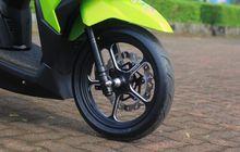 Honda Vario Ganti Pelek Palang Aluminium, Bobot Ringan, Tampilan Kece