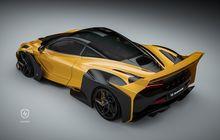 Tuner Ini Bikin McLaren 720S Makin Sangar Pasang Body kit Agresif