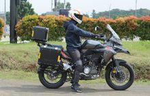 Test Ride Benelli TRK 502X, Riding Position Nyaman, Bobotnya 213Kg!
