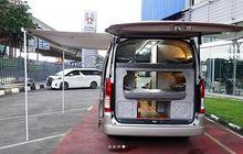 Enggak Ribet, Toyota HiAce Premio Campervan Delima Jaya Punya Toilet