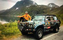 Kisah Perjalanan Hauwke Melintasi 70 Negara Dengan Toyota Land Cruiser