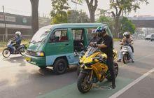 Viral Aksi Doni Salmanan Bagi-bagi Uang di Kota Bandung, Segini Harga Kawasaki Ninja H2 Tunggangannya
