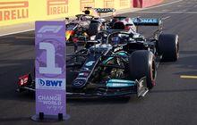 Hasil Kualifikasi F1 Inggris 2021 - Lewis Hamilton Beri Max Verstappen Ancaman